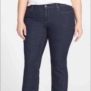DKNY Soho Boot Boot Cut Jeans, SZ 18w